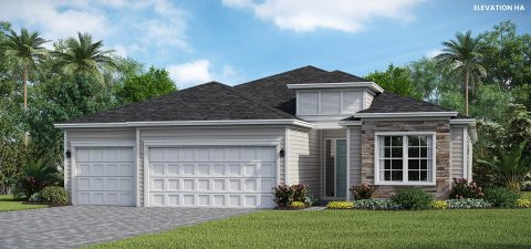 Lennar Homes Princeton Elevation HA - Lakeview