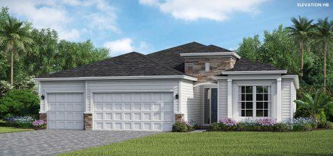 Lennar Homes Princeton Elevation HB - Lakeview