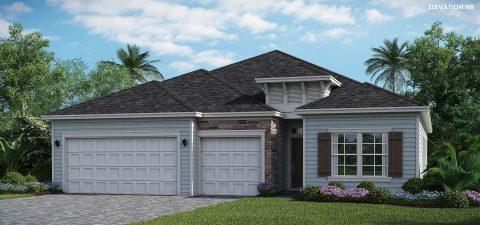 Lennar Homes Tivoli Elevation HB - Lakeview
