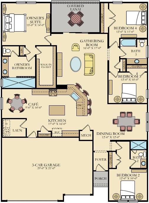 tivoli 55 plus floorplan for lakeview at reibutary